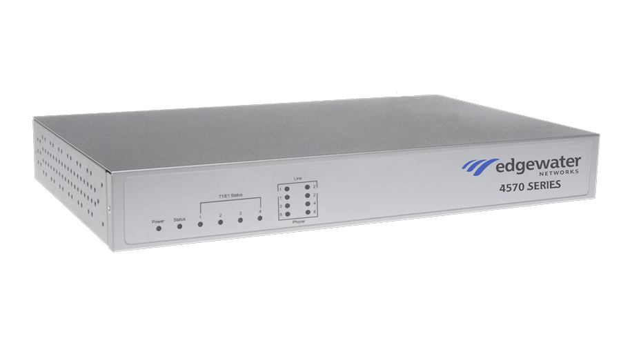 Edgewater Networks EdgeMarc 4570 - 8 FXS ports and 8 WAN Calls