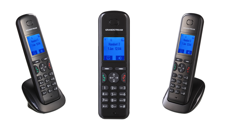 Grandstream DP710 - VoIP DECT Phone - Handset and Charger Unit