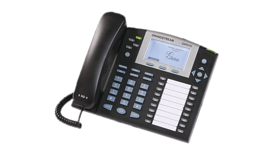Grandstream GXP2110 4-Line Enterprise IP Telephone - OPEN BOX
