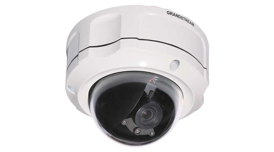 Grandstream GXV3662_HD 1 MP Vandal Dome High Definition IP Weather-Proof  Camera