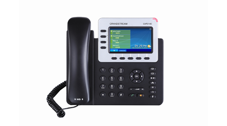 Grandstream GXP2140 Enterprise 4-Line IP Phone - Open Box