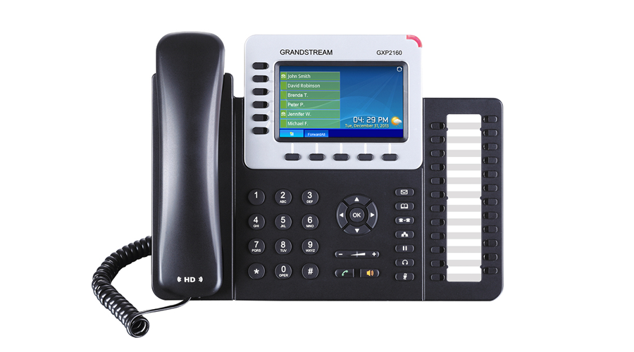 Grandstream GXP2160 Enterprise 6-Line IP Phone - Open Box