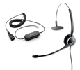 Jabra (GN Netcom) GN 2120 NC Wired Premium Headset with GN 1200 Smart Cord 6 (01-0243-88011-99-BL)