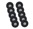 Jabra (GN Netcom) BIZ 2300 Series Foam Ear Cushions (10Pcs) (14101-38)