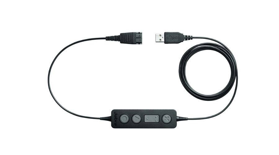 Jabra (GN Netcom) LINK 260 USB to QD Cable with Controller