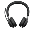 Jabra (GN Netcom) Evolve2 65 Over-the-Head Wireless Binaural Headset - Bluetooth (26599-999-999)