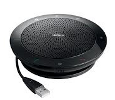 Jabra (GN Netcom) SPEAK 510+ Bluetooth and USB Speakerphone for MS Skype for Business Bundle with Link 360 Adapter