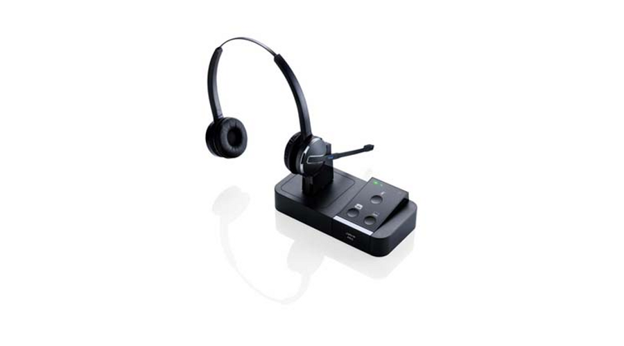 Jabra (GN Netcom) PRO 9450 Duo Flex-Boom Wireless Headset and Base Unit