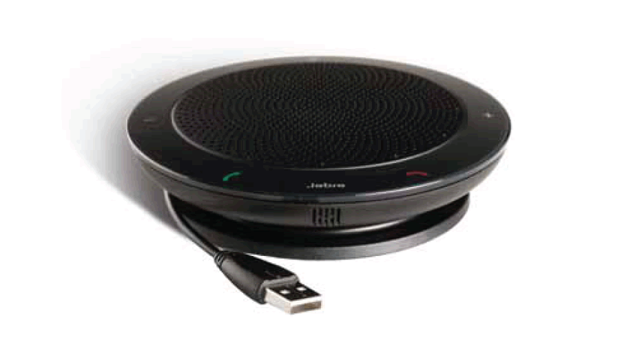 Jabra (GN Netcom) SPEAK 410 MS - Speakerphone - Optimized for Microsoft Skype for Business