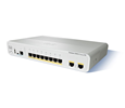 Cisco Catalyst 2960-C Compact Ethernet 8 Port Switch with 8 GE, 2 x Dual Purpose Uplink, LAN Base (WS-C2960CG-8TC-L)