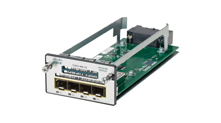 Cisco Catalyst 3K-X 1G Network Module option PID