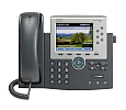 Cisco 7965 IP Phone - 6 Line - Color Touchscreen Display - Spare (CP-7965G=)