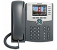 Cisco SPA525G2 5-Line IP Phone - Graphics-rich, High-resolution 3.2-inch QVGA 320 x 240 Color Screen (SPA525-G2)