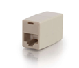 MISC C2G RJ45 8-PIN Modular Straight-Through Inline Cable. 1X RJ-45 FEM.X2 -IVORY (01937)