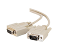 MISC C2G 3FT DB9 M/F Extension Cable-Beige DB-9 (25201)