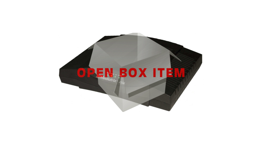 Mediatrix 4104 - 4 Port DGW Gateway - 4 FXS Ports - Open Box
