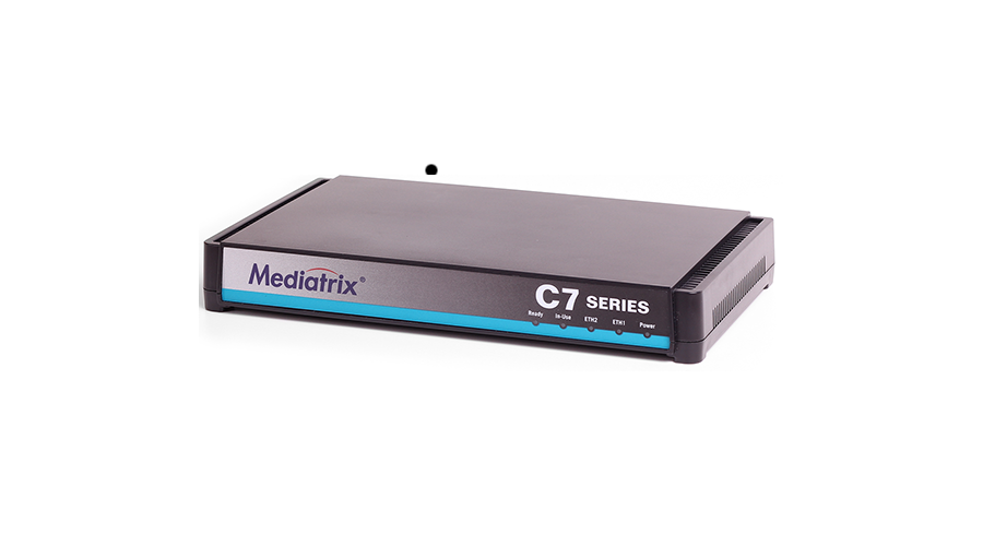 Mediatrix C711 VoIP Analog Adapter, Gateway and QoS Control - 8 FXS Ports - with European Power Supply