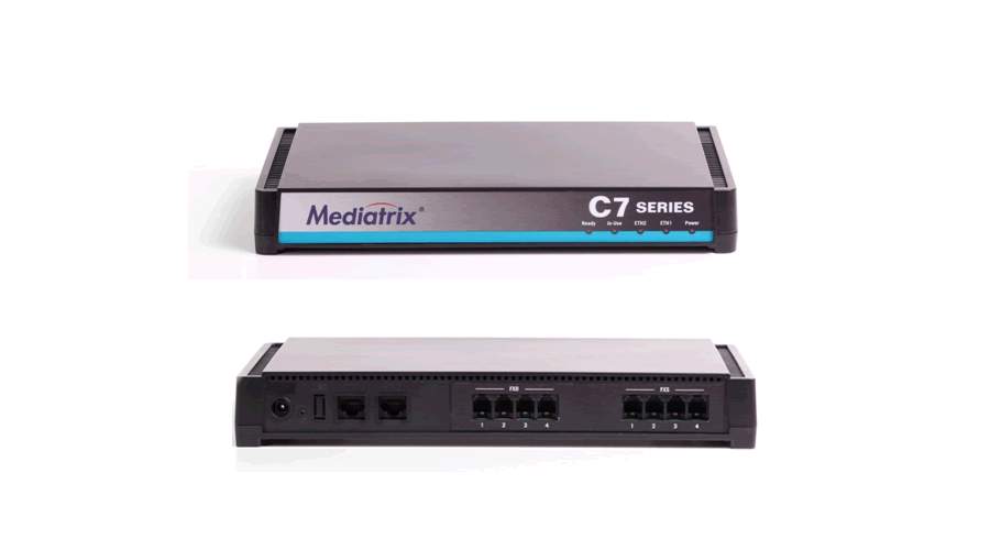 Mediatrix C711 VoIP Analog Adapter, Gateway and QoS Control - 8 FXS Ports