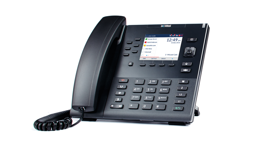 Mitel Aastra 6867 - 9-Line SIP Desktop Phone with 3.5