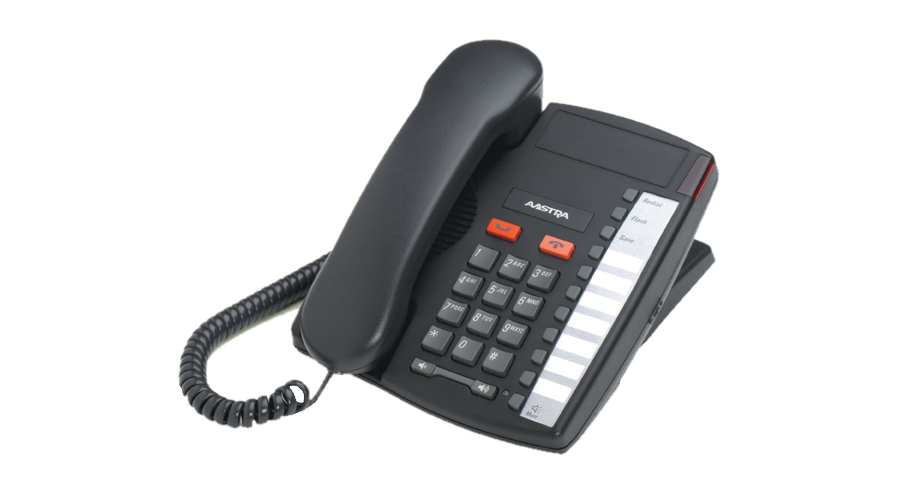 Mitel 9110 - Single Line Analog Phone - Charcoal