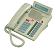 Mitel Meridian M5208 - Digital Centrex Phone with LCD Display  - Ash (A1602-0000-1507)