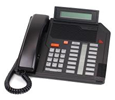 Mitel Meridian M5316 - Digital Centrex Phone LCD Display  - Black (A1604-0000-0207)