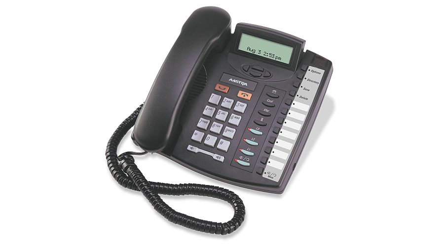 Mitel 9143 IP Phone (w/AC Adapter) - OPEN BOX
