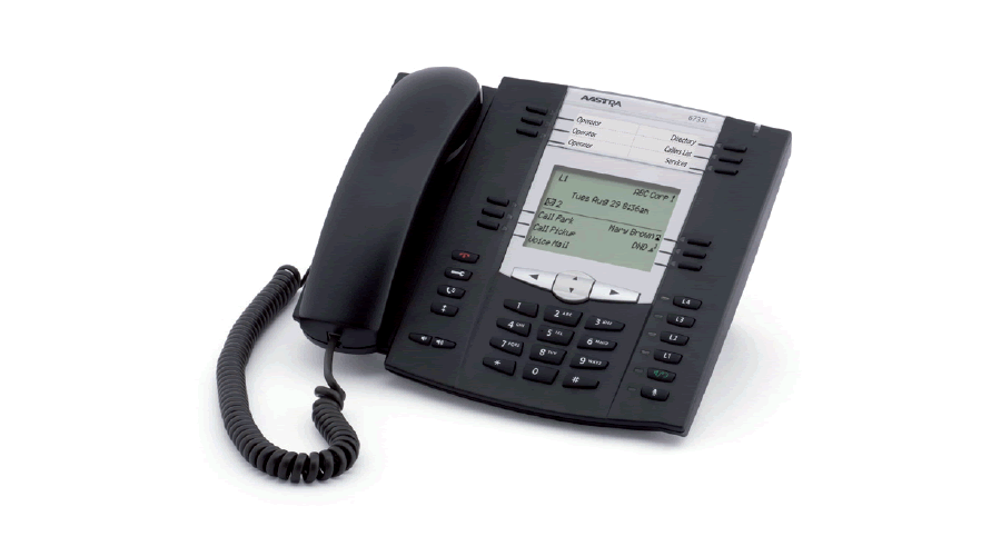 Mitel 6735 HD Audio and GigE, Expandable IP Telephone - Does not Include Power Supply - Open Box