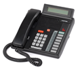 Mitel Meridian M5208 - Digital Centrex Phone with LCD Display - Black (A1602-0000-0207)