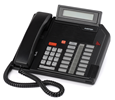 Mitel Meridian M5216 Business Set Phone with Display and Headset Capability - Black (A1603-0000-0207)