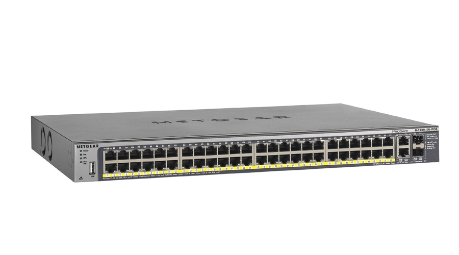 NetGear FSM7250P ProSAFE Plus 48-port Fast Ethernet Switch