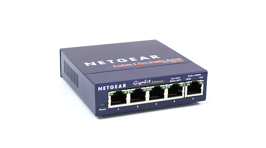 NetGear GS105Ev2 ProSAFE Plus 5-Port Gigabit Ethernet Switch