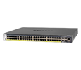NetGear M4300 48x1G PoE+ Stackable Managed Switch with 2x10G Base-T (GSM4352PB-100NES)