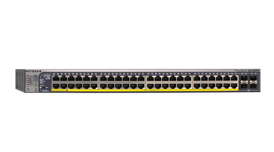 NetGear GSM7248P ProSAFE Plus 48-Port Gigabit Ethernet Switch