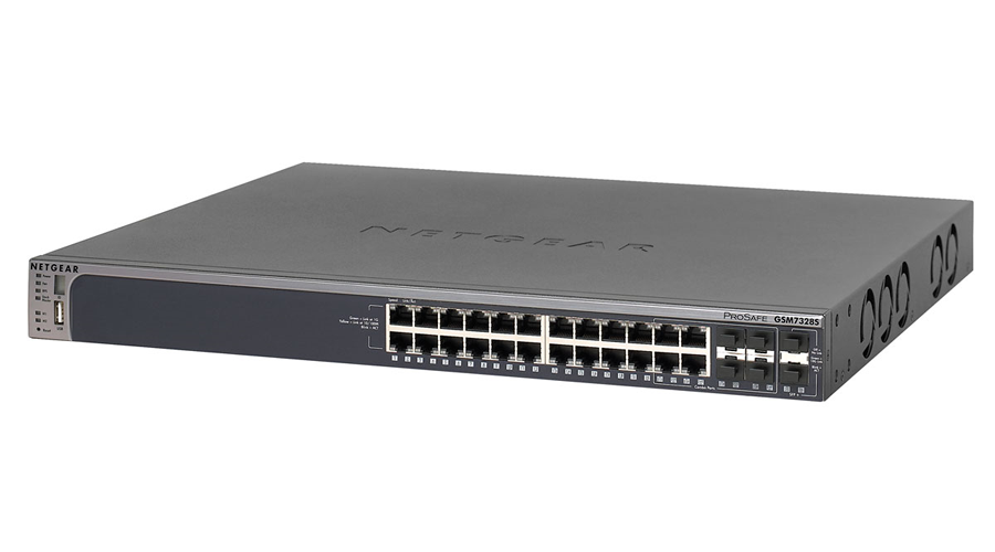 NetGear PROSAFE 24-PORT STACKABLE GIGABIT L3 MANAGED SWITCH - GSM7328S