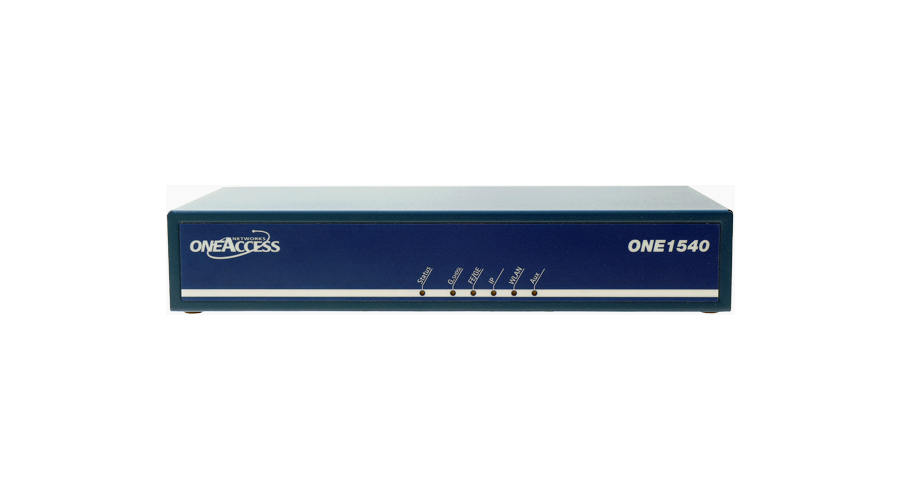 OneAccess Networks ONE1540 Multi-Service Router, 100 Mbps+, Gigabit Ethernet SFP & UTP WAN, 4 Port GbE Switch, FCC/UL