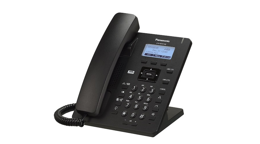 Panasonic KX-HDV130B - SIP Phone -  Includes Power Supply