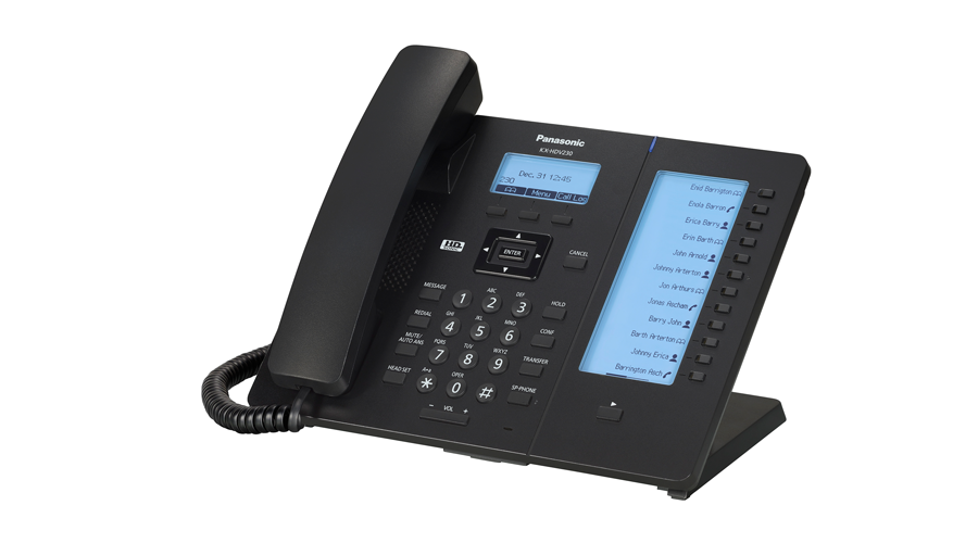 Panasonic KX-HDV230B - SIP Phone - Open Box