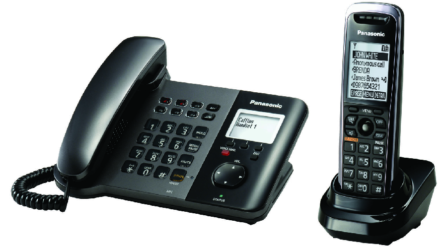 Panasonic TGP550 SIP DECT Phone Corded / Cordless Base with 1 TPA50 - OPEN BOX
