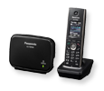 Panasonic TGP600 Smart IP Wireless Phone System - Includes One TPA60 Cordless Handset and DECT Base (KX-TGP600)