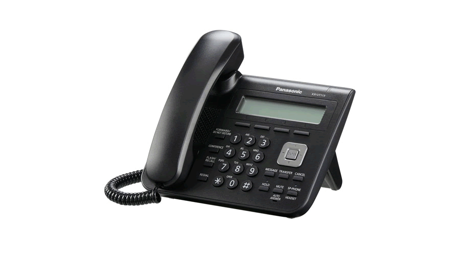 Panasonic KX-UT113B - Basic SIP Phone - Open Box