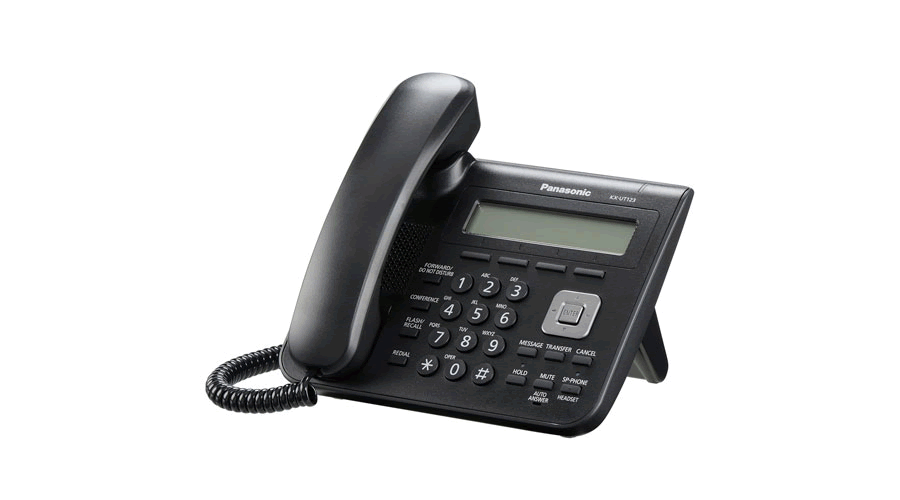 Panasonic KX-UT123B - Basic 2 Port SIP Phone