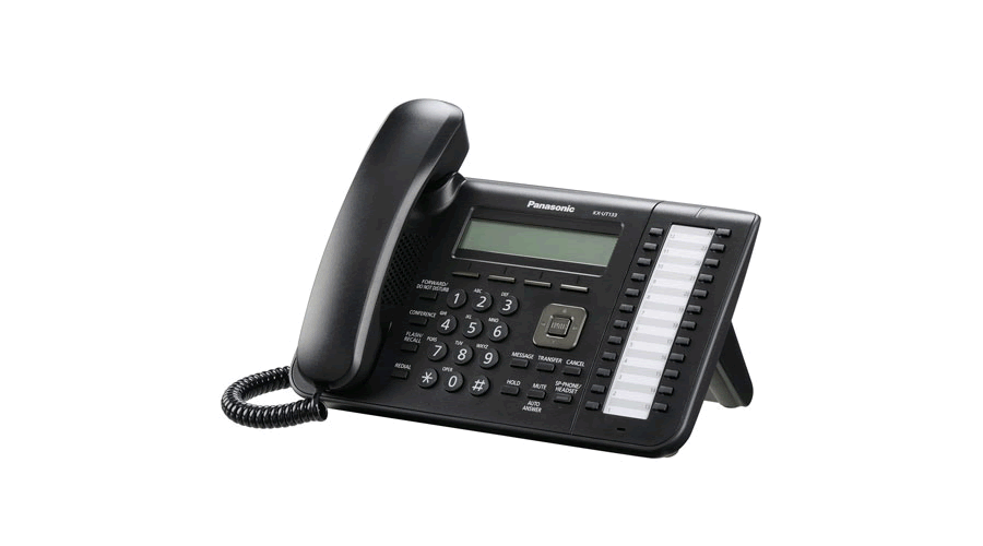 Panasonic KX-UT133B - Standard SIP Phone - Open Box