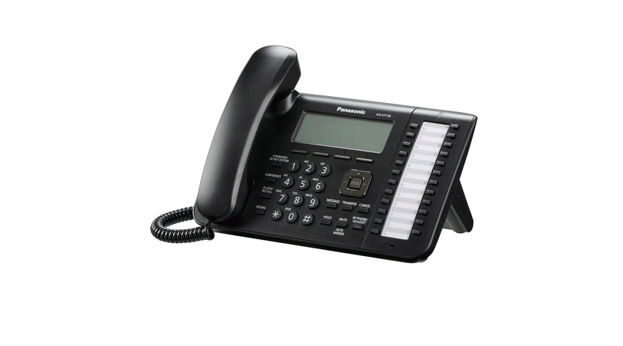 Panasonic KX-UT136B - Standard SIP Phone - Open Box