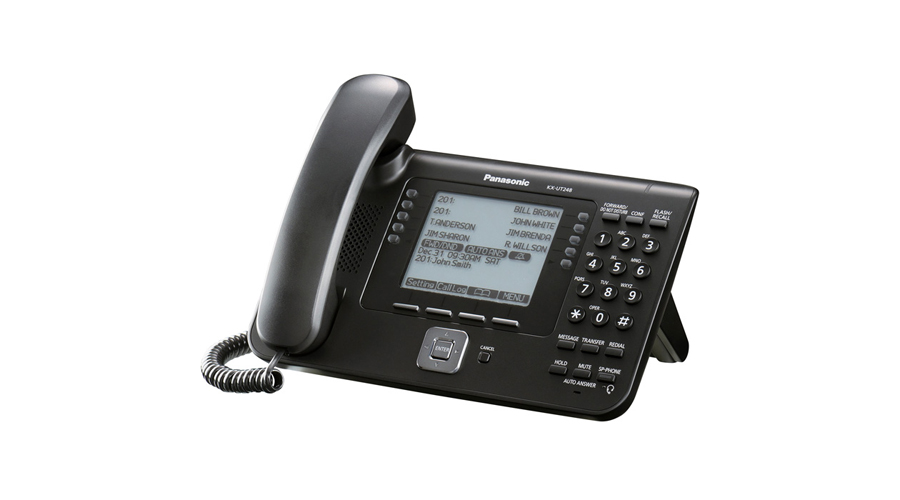Panasonic KX-UT248-B - Executive SIP Phone - Open Box