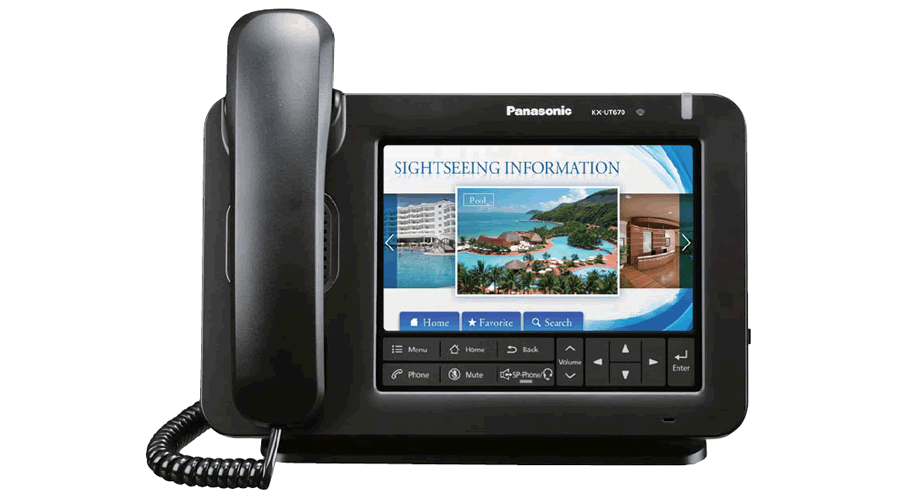 Panasonic KX-UT670 - Executive SIP Phone - Open Box