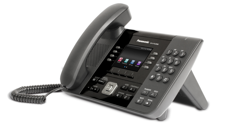 Panasonic KX-UTG200 - UTG Series SIP Phone - Includes Power Supply - Open Box
