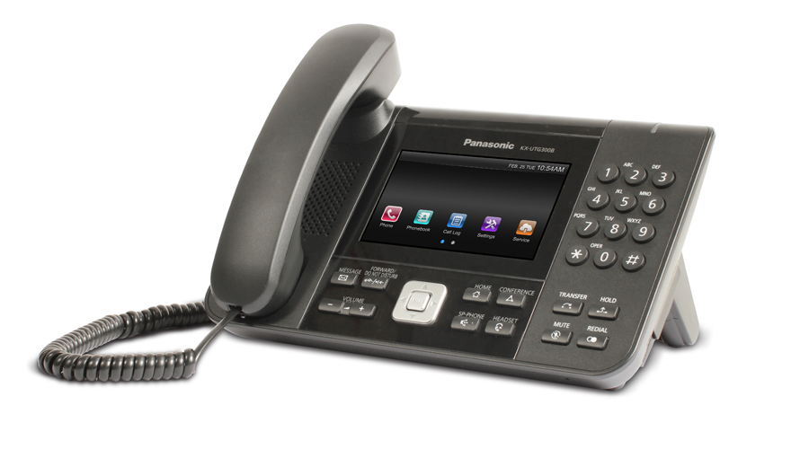 Panasonic KX-UTG300 - UTG Series SIP Phone - Open Box