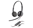 Plantronics Blackwire C520 Over-the-head, Stereo, USB Corded Headset (88861-01)