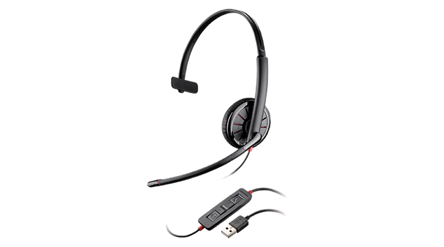 Plantronics Blackwire C315-M Over-the-head, Monaural, Microsoft